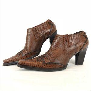Gianni Bini Western Cowboy Booties
